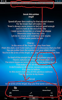 Screenshot of KLyrics - Lyrics Finder