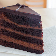 The Dark Knight Cake (Triple Chocolate Layer Cake)