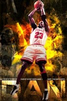 Screenshot of Michael Jordan Live Wallpaper