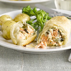 Salmon & Watercress Parcels