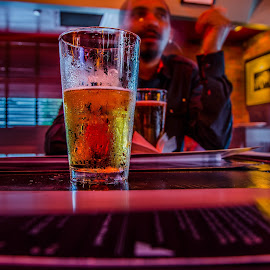 Drinks by Muntasir Nizami - Food & Drink Alcohol & Drinks ( #beer, #light, people, #glass, #bar )