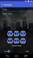 Screenshot of RoadWriter Lite - Songwriting