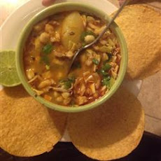 Easy Chicken Posole