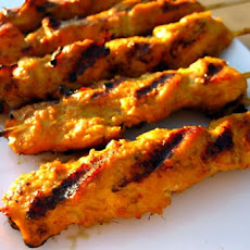 Lower Carb, Easy Pork Tenderloin or Chicken Satay