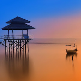 Kenjie by IkanHiu Pegel Pegel - Landscapes Sunsets & Sunrises