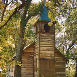 Louisiana Cajun Church  by Ron Olivier - Buildings & Architecture Places of Worship ( louisiana cajun church )