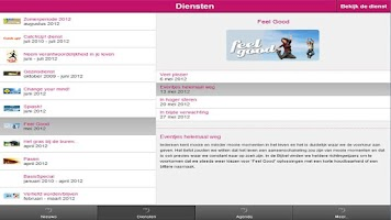 Screenshot of De Basis voor Tablet