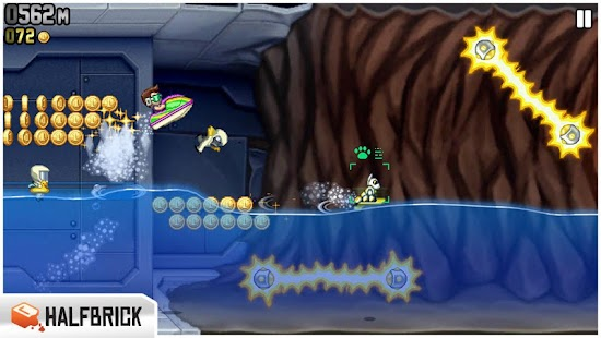 Screenshots  Jetpack Joyride