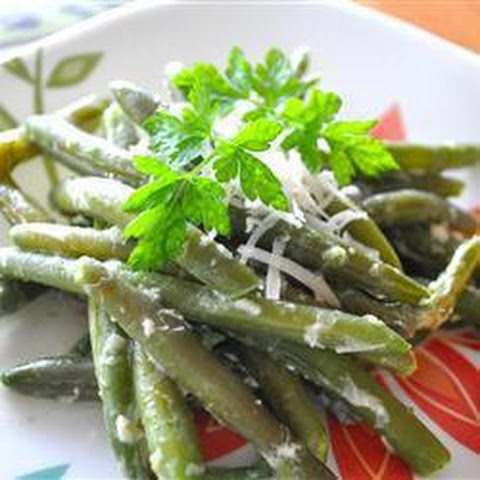 ... sauce beans in a creamy green beans with creamy creamy green beans