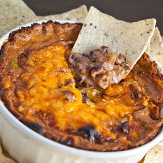 Hot Cheesy Bean Dip
