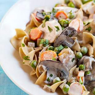 Slow-Cooker Turkey Stroganoff