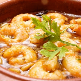 Spicy Lemon Garlic Prawns