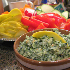 Spinach Dip for Veggies