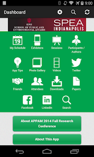 APPAM 2014 Fall Conference - screenshot