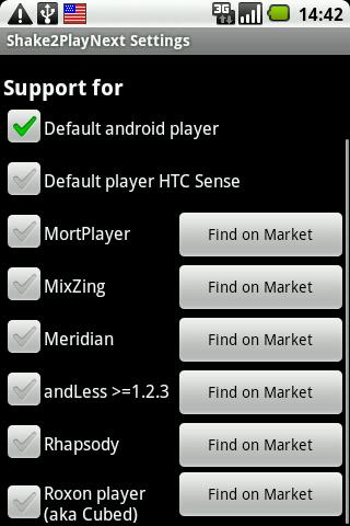 shake2playnext for android screenshot