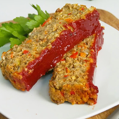 Best Lentil Meatless Meatloaf