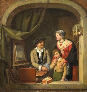 RIJKS: Jean-Baptiste Van Eycken (1800-1861): painting 1827