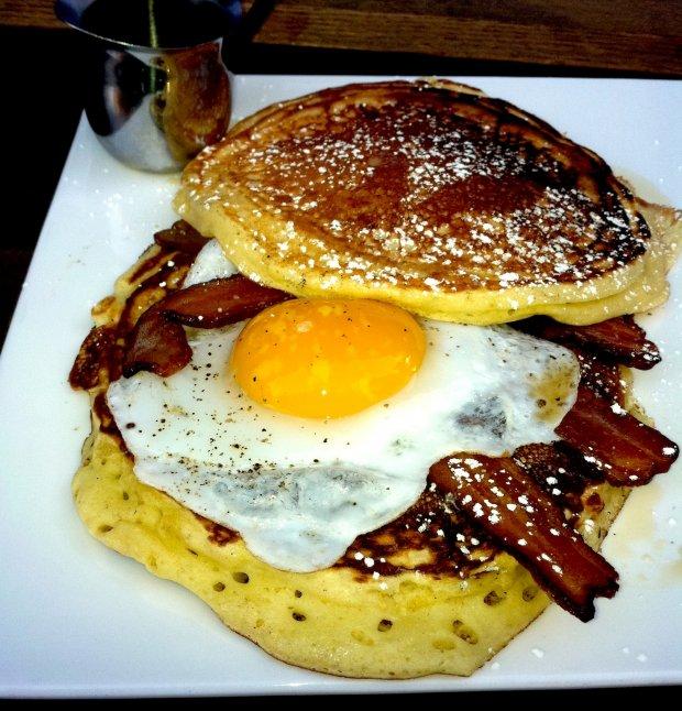 Momma Dobias' Pancake Sandwich Rezept | Yummly