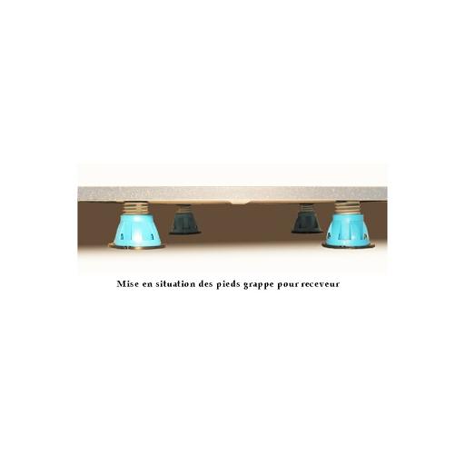 acheter socle receveur de douche ht 10 cm plinthe 7 largeurs aytr chez une salle de bain. Black Bedroom Furniture Sets. Home Design Ideas