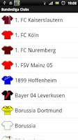 Screenshot of Bundesliga Explorer
