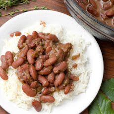 Red Beans and Rice With Smoked Turkey