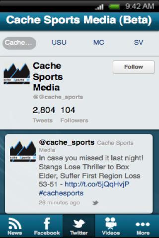 【免費運動App】Cache Sports Media (Beta)-APP點子