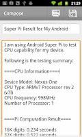 Screenshot of Super PI