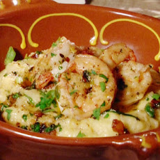 Bar Americain's Gulf Shrimp and Grits