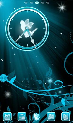 Fairy Blue Go Launcher Ex