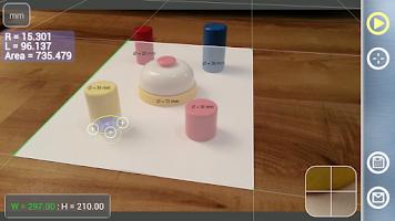 Screenshot of Partometer3D - photo measure