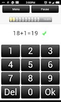Screenshot of Math: Addition Subtraction #1