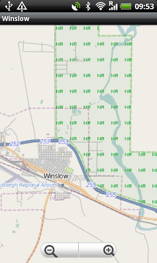 Winslow Street Map