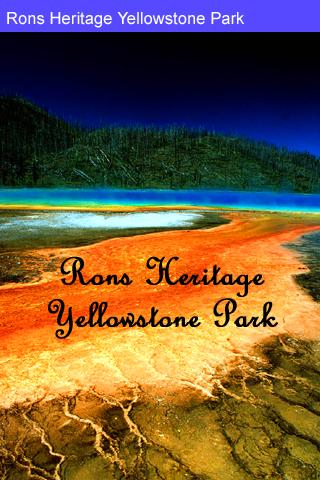 Rons Heritage Yellowstone Park