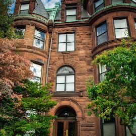 Boston Brownstone by Michael Last - Buildings & Architecture Homes ( home, boston, brownstone, architecture, city )