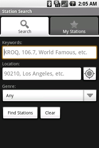Station Search