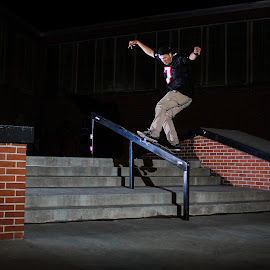 Victor's Boardslide by Kelvin Fanas - Sports & Fitness Skateboarding