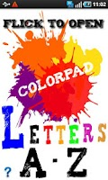 Screenshot of ColorPad Letters
