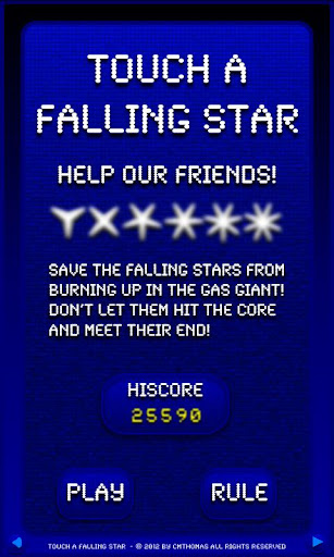 Touch A Falling Star Free