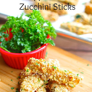 Gluten Free Vegan Breaded Zucchini Fries