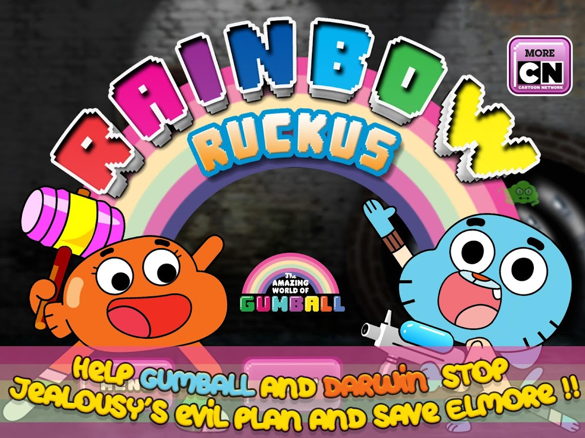 Gumball Rainbow Ruckus Screenshot