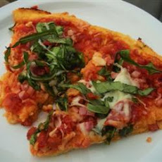 Sun-Dried Tomato and Rocket Pizza
