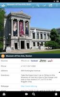 Screenshot of Boston Travel Guide