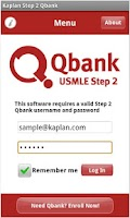 Screenshot of Step 2 Mobile Qbank