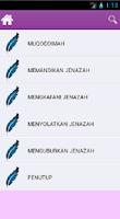Screenshot of Cara Merawat Jenazah