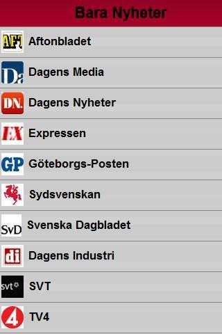Nyheter Sverige
