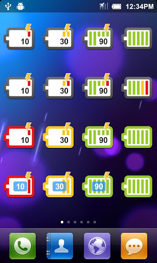 Battery Widget Quick