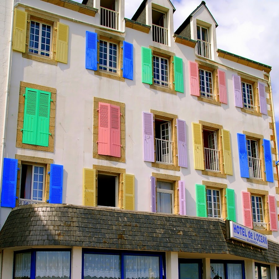 Sea front hotel - Quiberon France by Editha Bonneau - Buildings & Architecture Other Exteriors