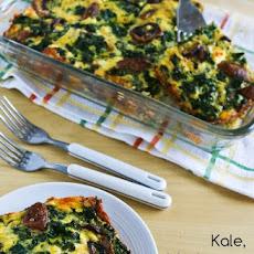 Twice-Baked Spaghetti Squash with Kale, Feta, and Mozzarella Recipe ...
