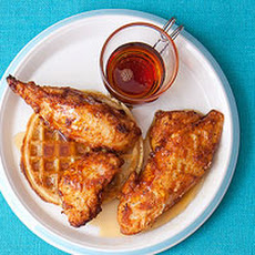 Cajun Chicken and Waffles