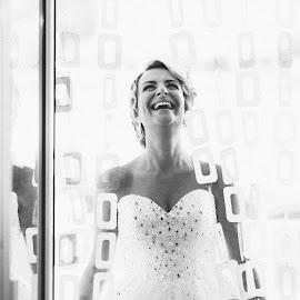 Happy Bride by Antonio Miše - Wedding Bride ( happy, wedding, croatia, bride, dalmatia, mise, photography )
